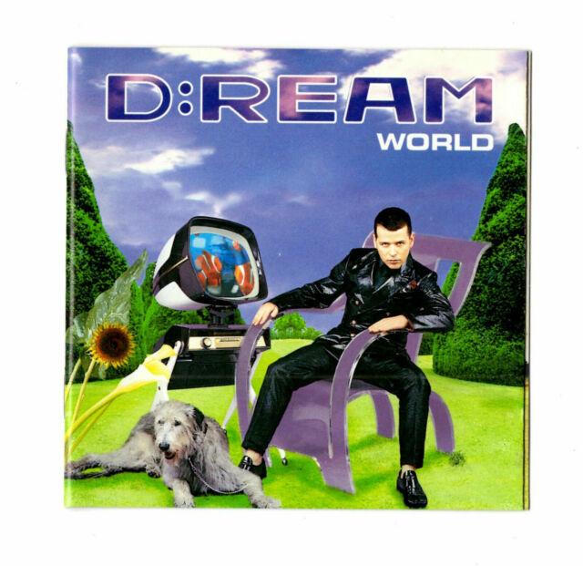 D:REAM - WORLD - CD 1995 - Superb condition