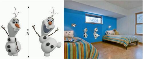 Frozen Olaf Fathead Wall Stickers Decal Enfants Filles Garçons Chambre Decor 3D cadeaux