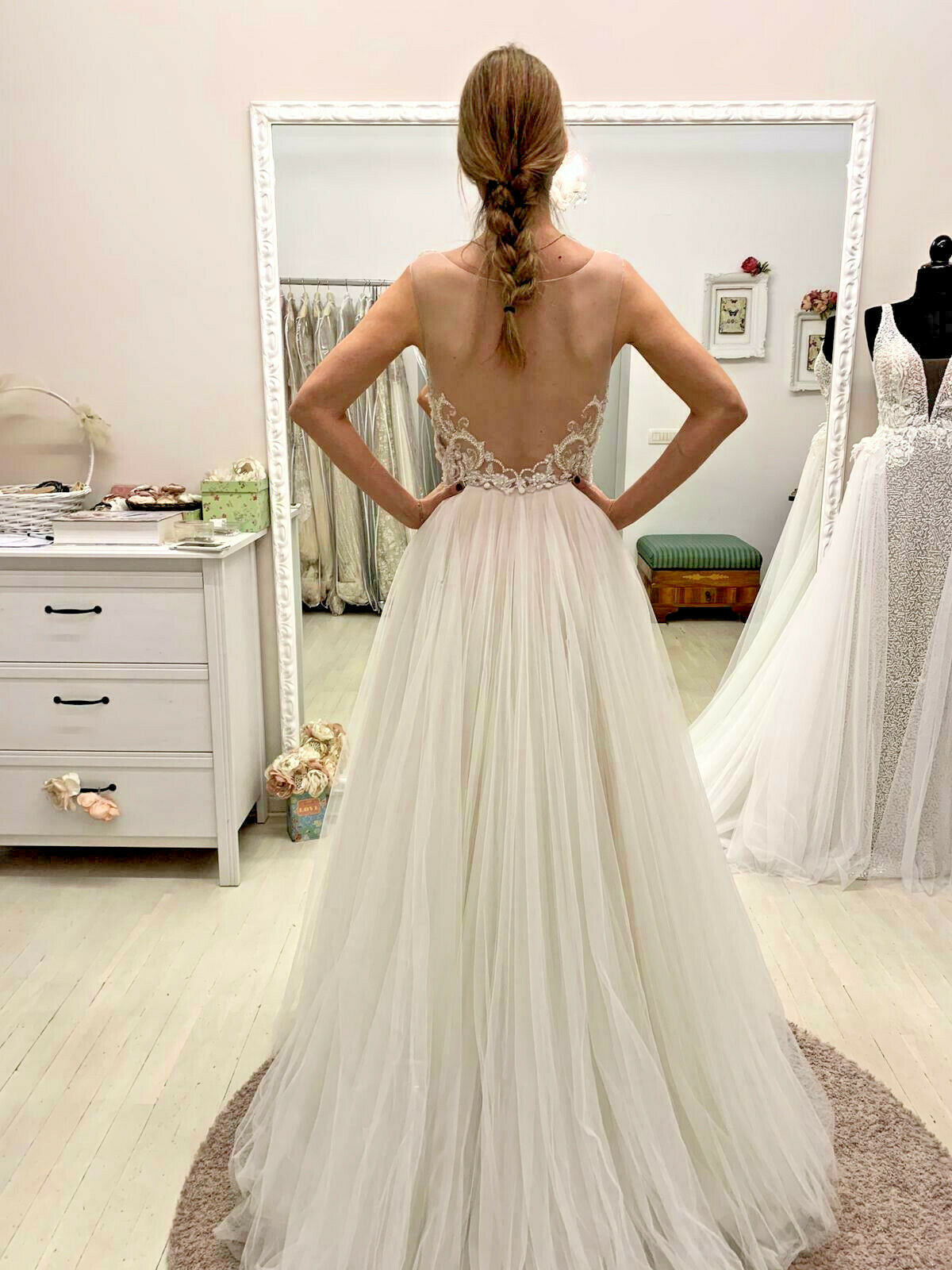 WTOO BY WATTERS NAOMI WEDDING GOWN - IN PERFECT SHAPE - RETAILS FOR ,660