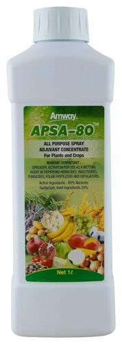 expiry-11//21 Amway APSA-80 Adjuvant concentracte plants crops control insect-1L