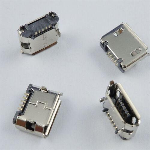 10pc Micro USB TypeB Femelle 5broches Socket 4Legs SMT SMD à souder Connecteur*t