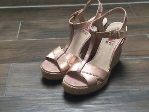 H MetallicEbay s39 Wedges Sandaletten i Rosa b7gfY6yIv