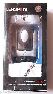 LensPen VidiMax Ultra Screen Wiper Cleaner Tissue Microfiber Cloth VMK-1 - NEW