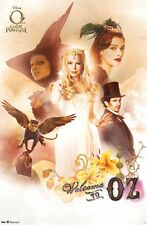 OZ GREAT POWERFUL MOVIE POSTER ~ WELCOME CAST 22x34 Mila Kunis Michelle Williams