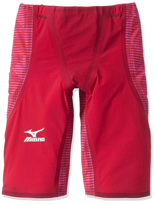 MIZUNO Swimsuit Men GX-SONIC III ST FINA N2MB6001 Red Size XS