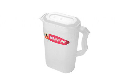 Beaufort Rectangular Fridge Door Jug 2L - Clear