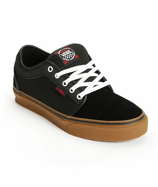 Vans x INDEPENDENT TRUCK CO. Mens Shoes (NEW) Chukka Low - BLACK GUM Indy Trucks