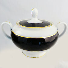 """CLAUDINE Rosenthal Covered Sugar Bowl 4.5"""" tall NEW NEVER USED made in Germany"""