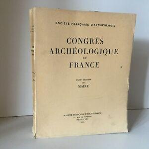 Congresso Archeologico Di Francia 119e Session 1961 Maine