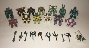 Vintage-1987-Hasbro-Battle-Beasts-Action-Figure-amp-Weapons-Lot