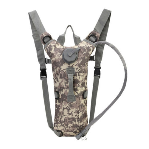 3L Water Bladder Bag Hydration Backpack Outdoor Hiking Camping Cycling Sport New