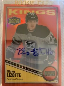 2019-20-OPC-Platinum-Retro-Red-Rainbow-Rookie-AUTO-R-89-Blake-Lizotte