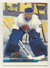 1993-94 Stadium Club - Members Only Logo - #479 - Jocelyn Thibault - Nordiques