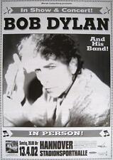 "BOB DYLAN TOUR POSTER / KONZERTPLAKAT ""HANNOVER 2002"""