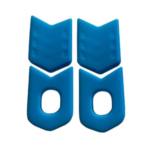 4pcs Silicone Crank Sleeve Crankset Bicycle MTB Bike Arm Boots Protective Cover