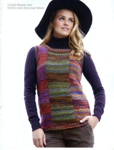 Weekend Wear Tahki Yarns Taos 2nd Edition Knitting Patterns L09-TAOS 6 Easy!