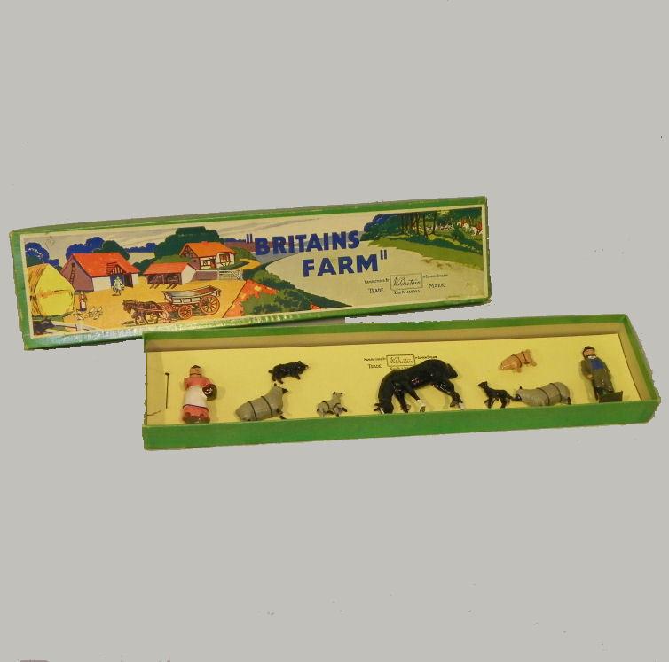 Britains Farm Animal Play Set No. No. No. 53F In the Box 409aad