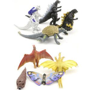 lot-of-8-Godzilla-Monsters-Mecha-Fire-Godzilla-Gigan-PVC-FIGURE-SET-2-034-4-034-Decor