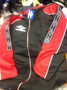 Training Front £30 Small Pro In 34 Umbro Black Coat red Zip 36inch At eEYWHDI29