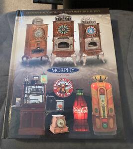 Morphy Auctions Catalog November 2019 Coin Op Collectibles Advertising Book Ebay