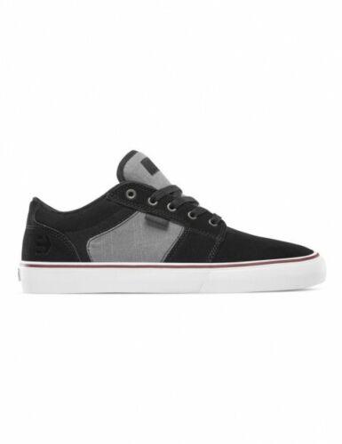 ETNIES BARGE LS scarpe da uomo skate grigio nere 40 41 44 45 46 47 in pelle tela