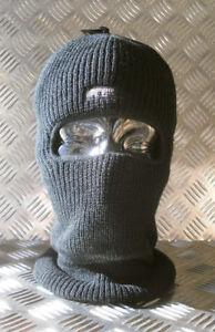 Black-One-1-Hole-Thinsulate-Balaclava-Beanie-Hat-Very-Warm-Brand-New