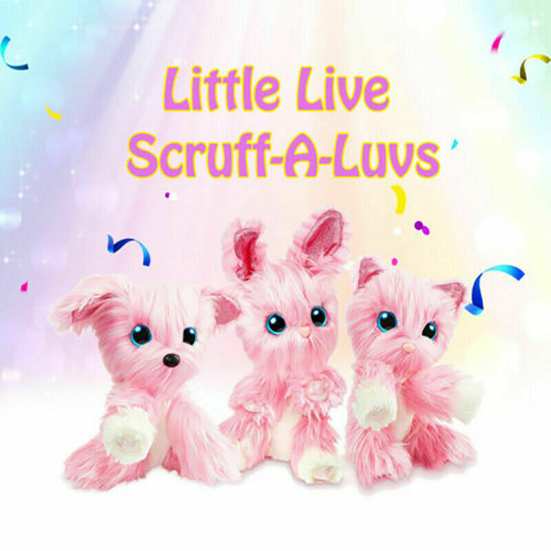 UK Hot Scruff-A-Luvs Rescue Plush Little Live Doll Toys Pets Kids Birthday Gifts 8