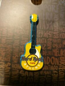 HARD ROCK CAFE ATHENS  sprayed metal core guitar