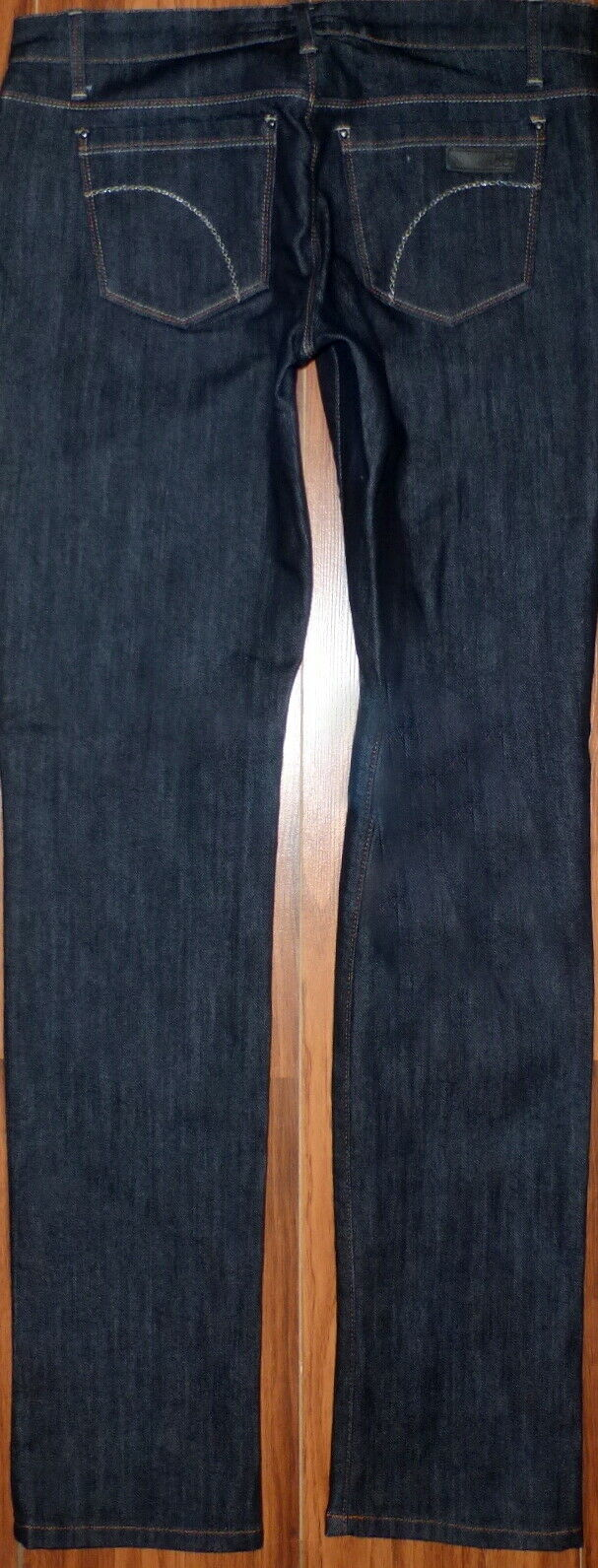 NEW WOMENS JOES CIGARETTE STYLE SKINNY FIT LUCA DARK WASH JEANS SIZE 28X34