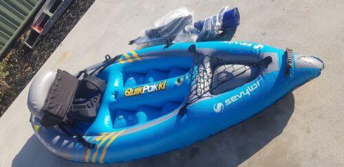 inflatable KAYAK SEVYLOR  K1 quickpak boat canoe