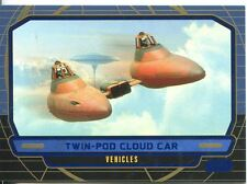 Star Wars Galactic Files Blue Parallel #283 Twin-Pod Cloud Car