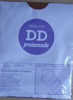 Collant Neuf Vintage Dd Promenade Couleur Muscade Taille 1