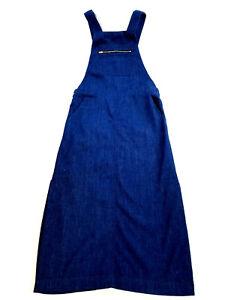 prix de gros enfant professionnel Détails sur Neuf Zara Femme Jean Jump Jupe Combinaison Asie Édition Limitée  Bleu XS Pdsf