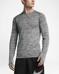 Nike Dri FIT Men's Long Sleeve Running T Shirt