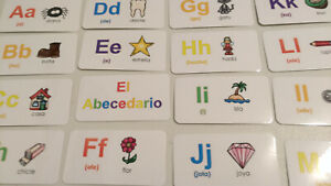 29 laminated Gardening themed flash cards Preschool and Kindergarten learning