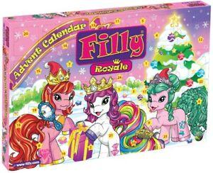 Dracco Advent Calendar Filly Royale Swarovski Crystals Horse Adventskalender #NG
