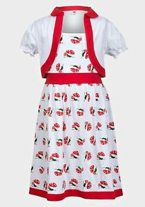 5be90d279 8-9 Years Girls Childs Magic Fairy Toadstool Dress Sleeveless ...