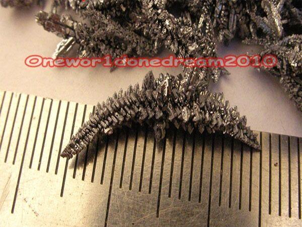 1 gram High Purity 3N 99.9/% Pure Vanadium Metal Crystal Pieces Sample