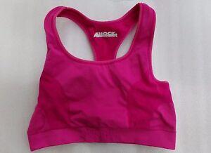 Womens-Dark-Pink-Shock-Absorber-Bra-Size-Small-Fitness-Yoga-Running-Sports-Bra