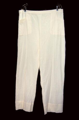 Ivory colori garza Sz cotone Pm di in tenui dai Nuovi pantaloni ZYqEvwxF
