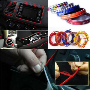 5m point edge gap line car interior accessories molding - How to decorate your car interior ...