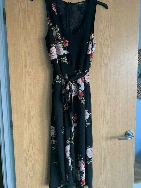 * Superbe * Cameo Rose/new Look Wide Leg Culottes Combinaison Taille Uk 12