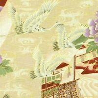 RJR Han e mai #0515-01 QUILT FABRIC Collection on Cream