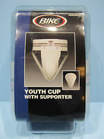 Bike Youth Hard Cup & Supporter 7175 Sports Athletic Performance Jockstrap Nip