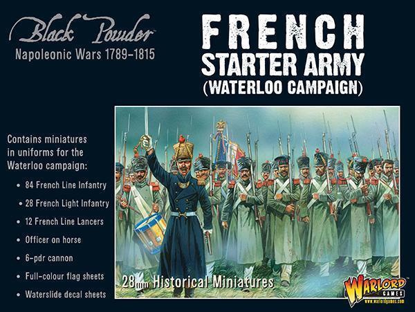 Seigneur de Guerre Poudre Noire Entièrement neuf dans sa boîte Napoléon armée Française (Waterloo) WGN-309912005