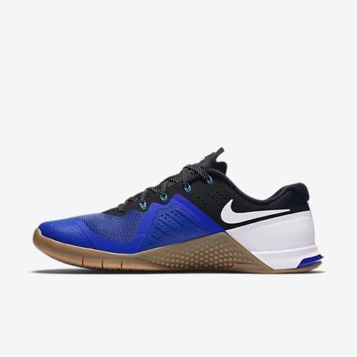 NIB Nike Metcon 2 Running Shoes Racer Blue Black 819899-480 Mens Sz 10.5-11