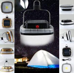 Portable-3W-300LM-COB-LED-Solar-USB-Rechargeable-Camping-Light-Lantern-Tent-Lamp