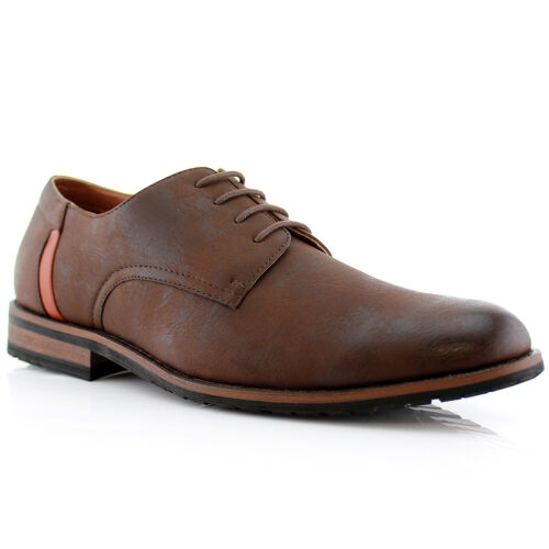 Men/'s Leather Lace Up Oxford Ankle Formal Business Casual Dressing Shoes