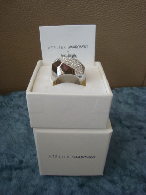 ideología Hobart compromiso  Atelier Swarovski by Jean Paul Gaultier Reverse Ring (55) - 5226172 for  sale online | eBay