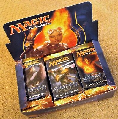 MAGIC THE GATHERING CORE 2014 SET M14 BOOSTER 1//3 BOX 12 PACKS FACTORY SEALED